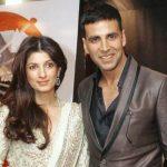 अक्षय कुमार अपनी पत्नी के साथ