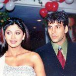 अक्षय कुमार शिल्पा शेट्टी के साथ