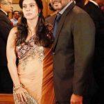 अजय देवगन अपनी पत्नी के साथ