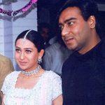 अजय देवगन करिश्मा कपूर के साथ