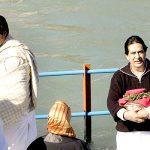 अमिताभ बच्चन अपने भाई अजीताभ बच्चन के साथ