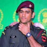 एमएस धोनी लेफ्टिनेंट कर्नल भारतीय क्षेत्रीय सेना के रूप में