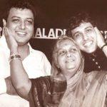 गोविंदा अपने भाई और माँ के साथ