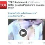 टाइम्स ऑफ़ इंडिया का ट्वीट