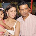 मनोज वाजपेयी अपनी पत्नी और बेटी के साथ