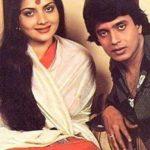 मिथुन के साथ  योगिता बाली