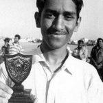 युवा दिनों में महेंद्र सिंह धोनी