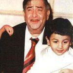 रणबीर कपूर अपने दादा के साथ