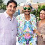 रणवीर सिंह अपने माता पिता के साथ
