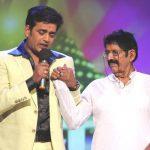 रवि किशन अपने पिता के साथ