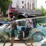 रांची में एमएस धोनी का होटल