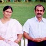 राणा दग्गुबती अपने माता पिता के साथ