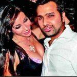 रोहित शर्मा सोफिया हयात के साथ