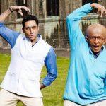 अभिषेक बच्चन और अमिताभ बच्चन फिल्म पा में
