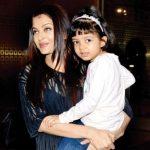 ऐश्वर्या राय अपनी बेटी आराध्या बच्चन के साथ