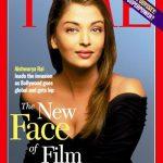 ऐश्वर्या राय टाइम पत्रिका के बाहरी आवरण पृष्ठ पर