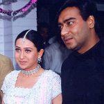 करिश्मा कपूर अजय देवगन के साथ