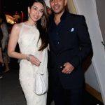 करिश्मा कपूर अपने पूर्व पति के साथ