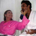 रानी मुखर्जी के साथ अभिषेक बच्चन