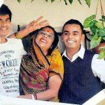 शिवराज सिंह चौहान की पत्नी और बेटे