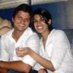 सुरेश रैना अपनी बहन के साथ