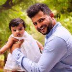 सुरेश रैना अपनी बेटी ग्रासिया रैना के साथ