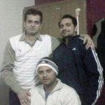 सुरेश रैना अपने भाइयों के साथ