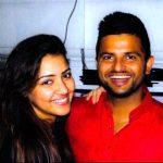 सुरेश रैना के साथ उनकी पत्नी प्रियंका चौधरी