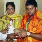 सुरेश रैना के साथ पूर्णा पटेल
