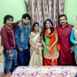 ईनु श्री अपने परिवार के साथ