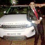 कपिल शर्मा रेंज रोवर एवोक के साथ