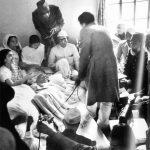 गांधी जी 21 दिन उपवास के दौरान