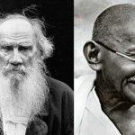 महात्मा गांधी और लियो टॉल्स्टॉय