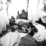 महात्मा गांधी की पत्नी कस्तूरबा गांधी का पार्थिव शरीर