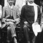 महात्मा गांधी (बाएं) गोपाल कृष्ण गोखले के साथ