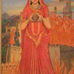 रानी पद्मावती, जौहर (आत्म-दाह) के दौरान