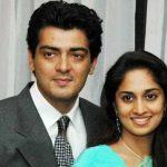 अजित कुमार अपनी पत्नी शालिनी अजित के साथ