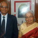 अभिसार शर्मा के माता पिता