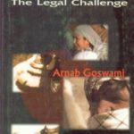 अर्णव की पहली पुस्तक Combating Terrorism : The Legal Challenge