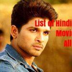 List of Hindi Dub Allu Arjun 15 Film List | अल्लू अर्जुन की हिंदी डब 15 फिल्मों की सूची