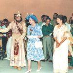 कमल हासन रानी एलिजाबेथ के साथ