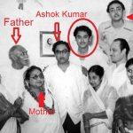 किशोर कुमार अपने परिवार के साथ