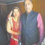 जयराम ठाकुर अपनी बहन अनु ठाकुर के साथ