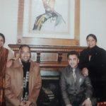 जयराम ठाकुर  की पत्नी और छोटा भाई और भाभी