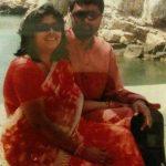 दीपक चोरसिया अपनी पत्नी अनुसूया रॉय के साथ