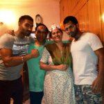 परमीश वर्मा अपने परिवार के साथ