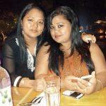 भारती सिंह अपनी बहन के साथ