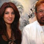 राजेश खन्ना अपनी बेटी ट्विंकल खन्ना के साथ