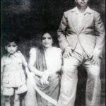 राजेश खन्ना लीलावती खन्ना और चुन्नीलाल खन्ना के साथ