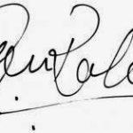 अजिंक्य रहाणे हस्ताक्षर